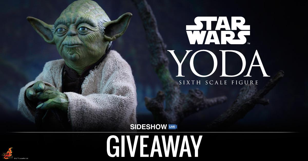Sideshow Live Yoda Sixth Scale Figure Giveaway