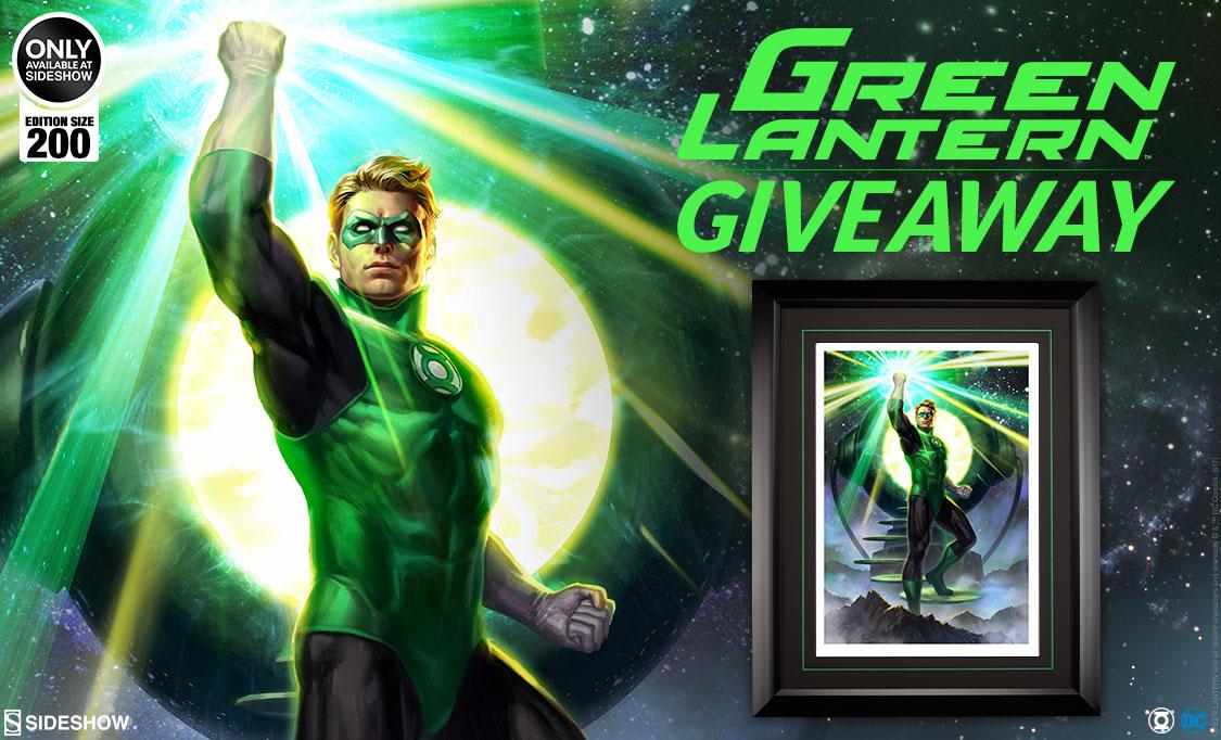 Green Lantern Premium Art Print Giveaway