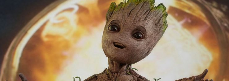 Hot Toys Groot goes Green in New Ford Commercial