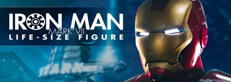 You've Reached the Life Model Decoy of Tony Stark- Introducing the Iron Man Mark VII Life-Size Figure