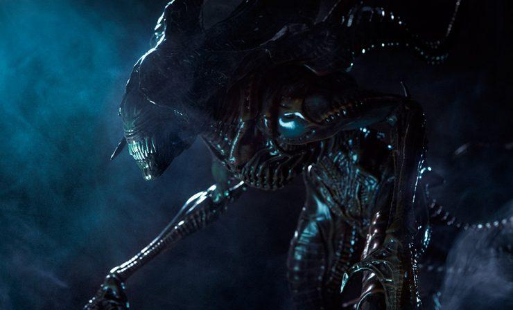 New Production Photos – Alien King Maquette