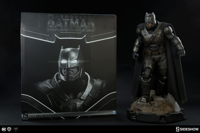 Stepping Out of the Armory with New Production Photos of Armored Batman