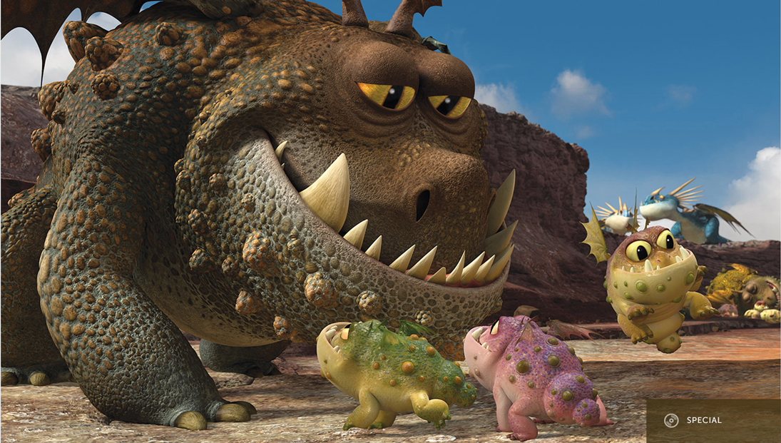 Top 10 Dragons From How To Train Your Dragon Sideshow