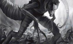 Alien King Premium Art Print
