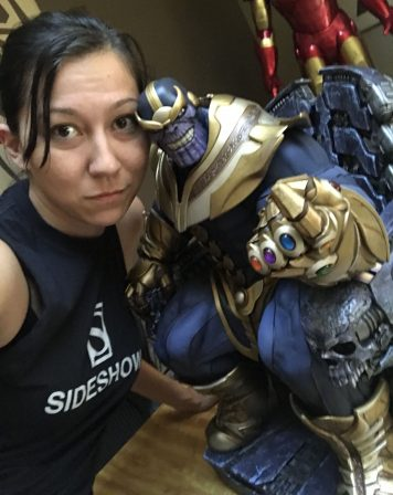 Susan with Thanos