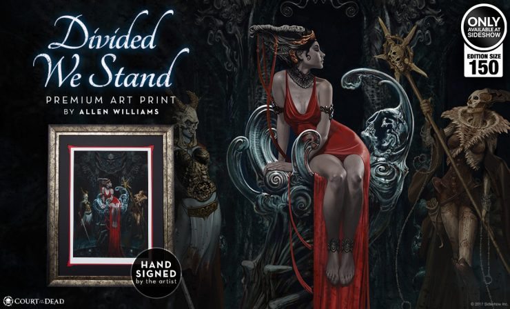 Divided We Stand Premium Art Print CotD
