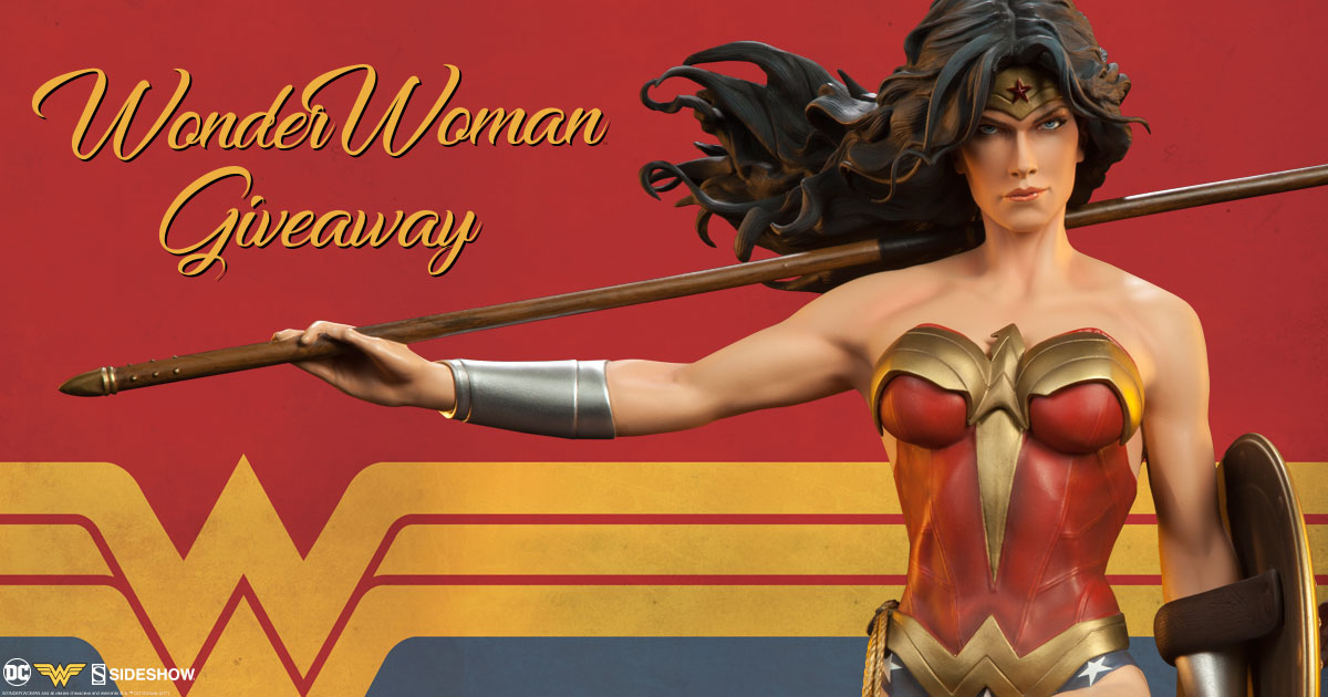 Wonder Woman Premium Format Figure Giveaway