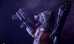 Rocket Raccoon Premium Format Figure
