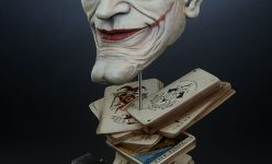 The Joker: Face of Insanity Life Size Bust