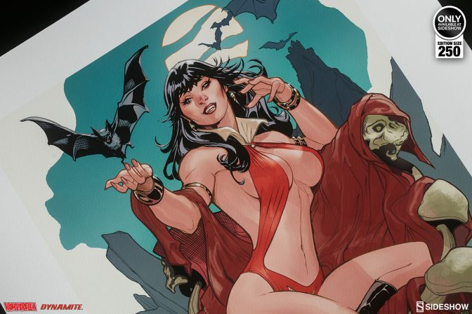 Sink Your Fangs into the Vampirella: A Scarlet Thirst Premium Art Print