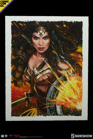 Wonder Woman: Diana of Themyscira Artist Proof Print