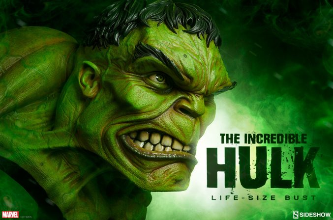 Incredible Hulk Life-Size Bust