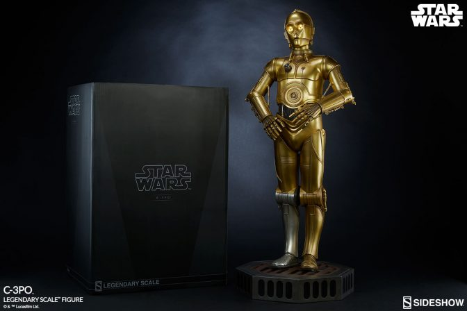 Oh, My!  We Have Production Gallery Updates for C-3PO!