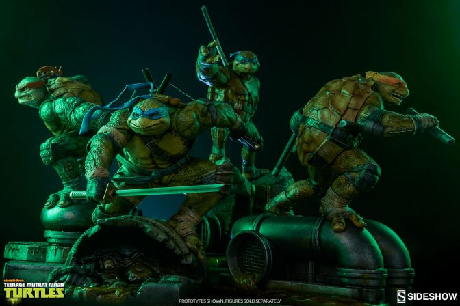 Teenage Mutant Ninja Turtle Statues