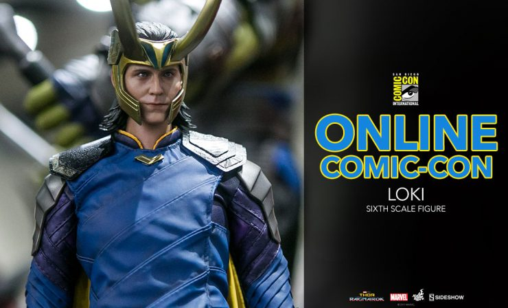 Loki Sixth Scale Figure – Thor: Ragnarok – Hot Toys