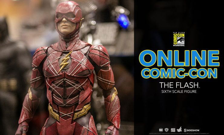 The Flash Sixth Scale Figure – Justice League – Hot Toys