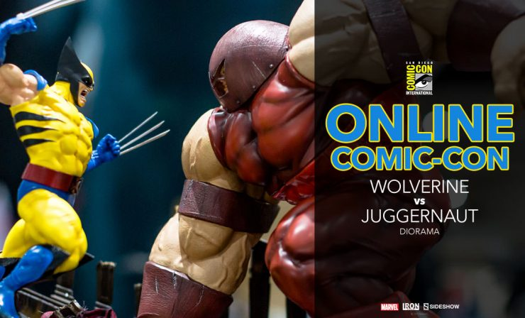Wolverine vs Juggernaut Diorama – Iron Studios