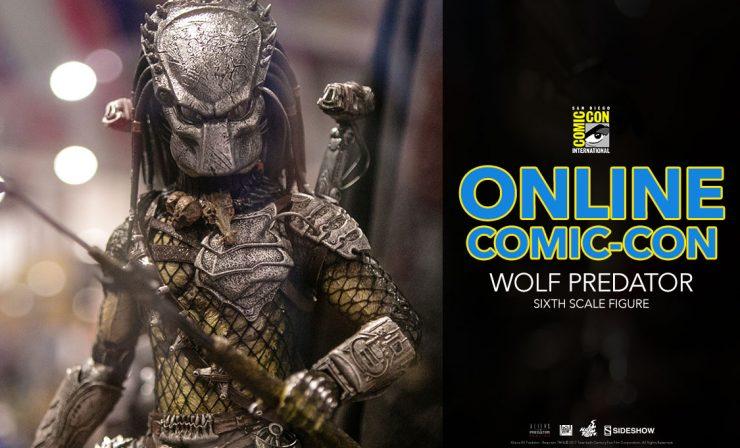 Wolf Predator Sixth Scale Figure – Aliens vs Predator: Requiem – Hot Toys