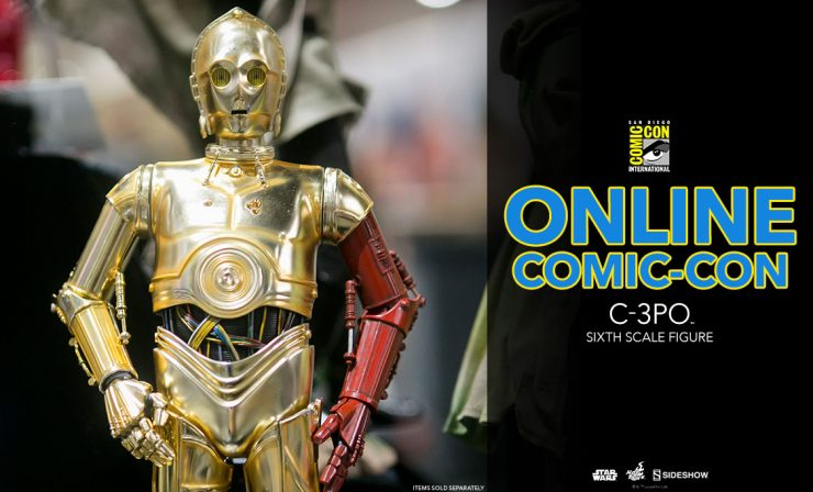 C-3PO – The Force Awakens –  Hot Toys