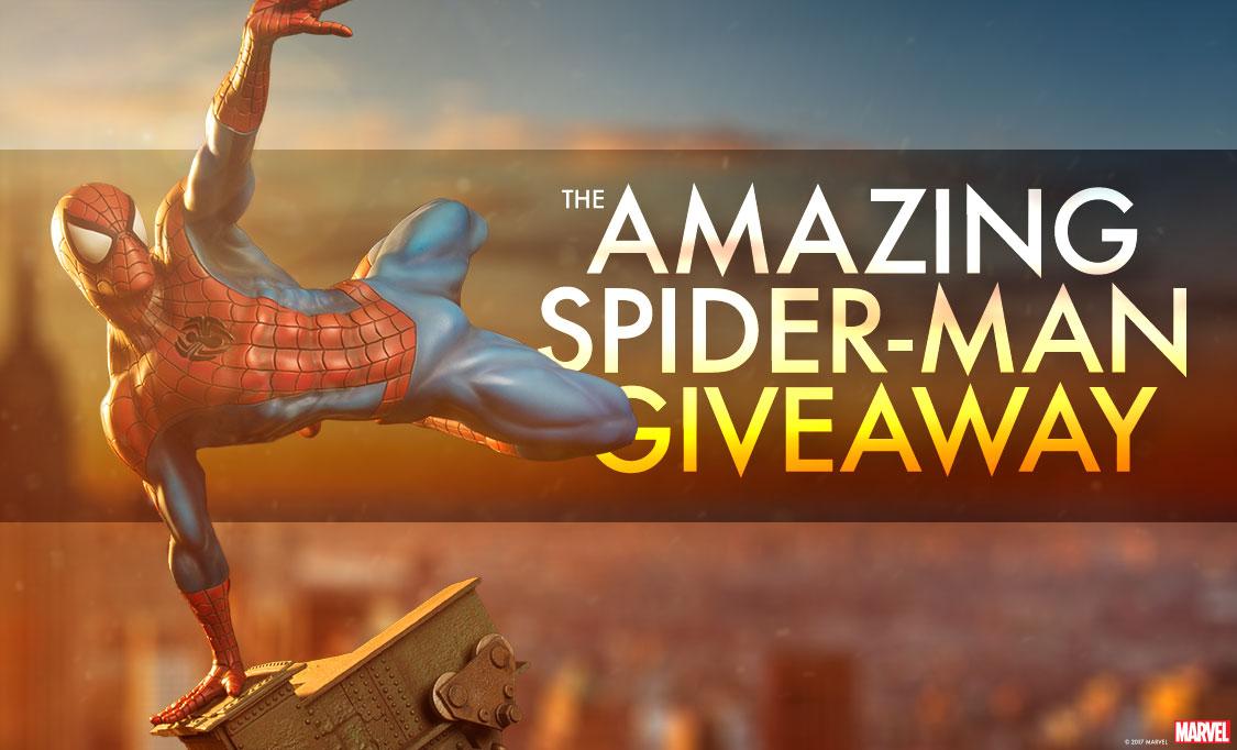 Spider-Man Premium Format Figure Giveaway