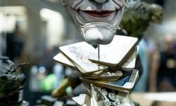 The Joker: Face of Insanity Life-Size Bust