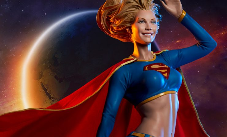 Check out these Super Savings on Supergirl for Sideshow's Online Comic-Con!
