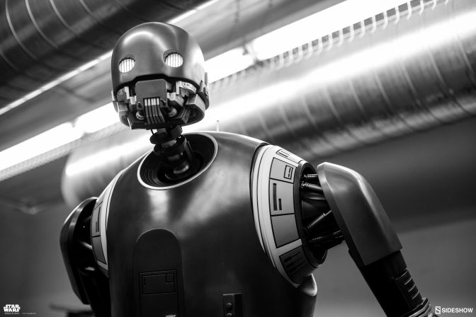 See the Life-Size K-2SO from Sideshow for San Diego Comic-Con 2017!