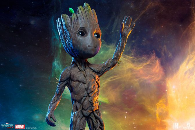 Say Hello to the Baby Groot Maquette from Sideshow and Legacy Effects