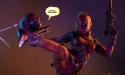 Lady Deadpool Premium Format Figure
