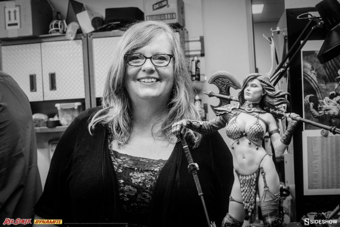 GAIL SIMONE MEETS RED SONJA!