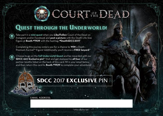 SDCC Court Quest 2017