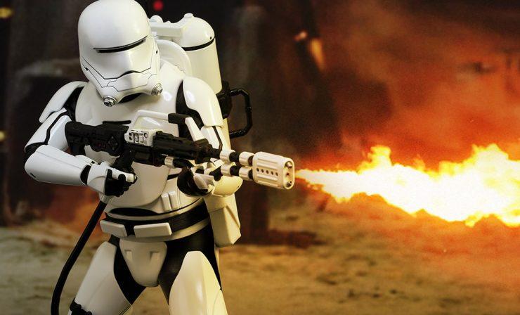 Star Wars First Order Flametrooper Sixth Scale Figure