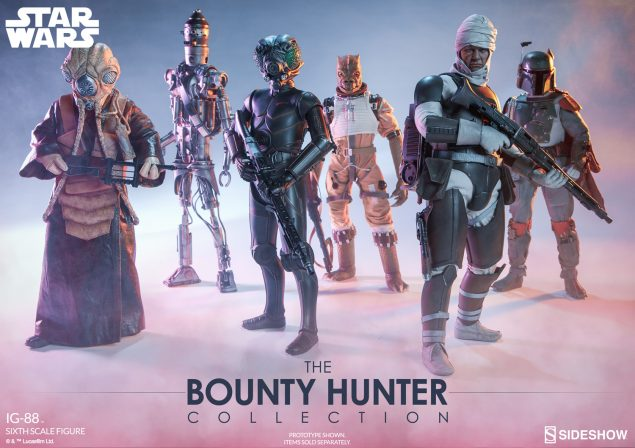 Sideshow Star Wars Bount Hunters