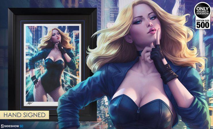 Black Canary Premium Art Print