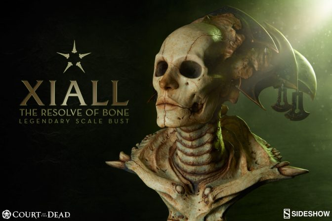 Xiall Legendary Scale Bust