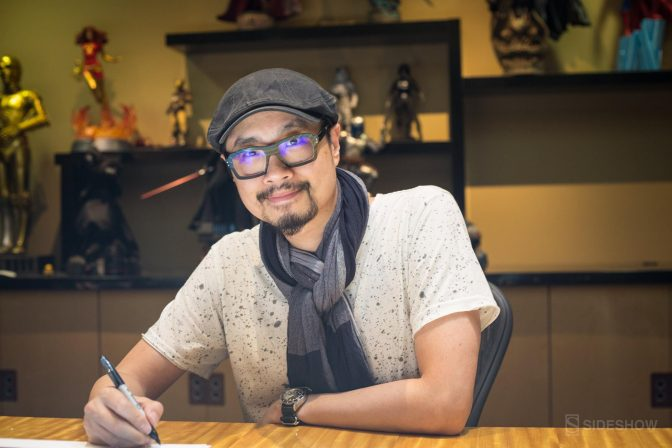 Stanley 'Artgerm' Lau visits Sideshow HQ to Sign Art Prints!