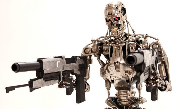 Life-Size T-800 Endoskeleton