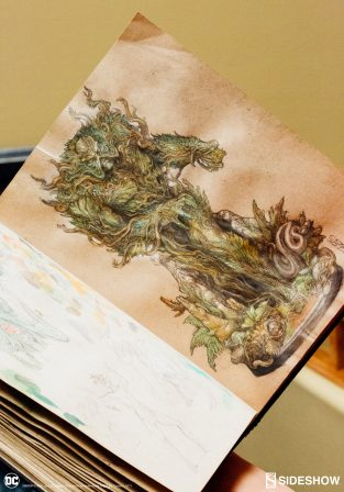 Behind the Vines- Sculpting the Swamp Thing Maquette