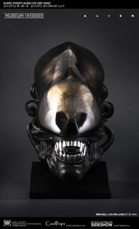 Giger's Alien Life-Size Head Replica