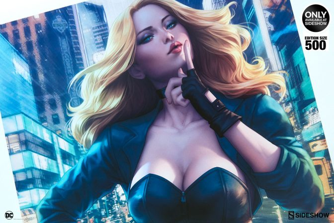 Black Canary Enters the Fray with Newest Birds of Prey Premium Art Print