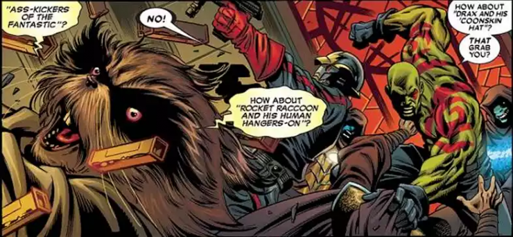 Rocket Raccoon Facts