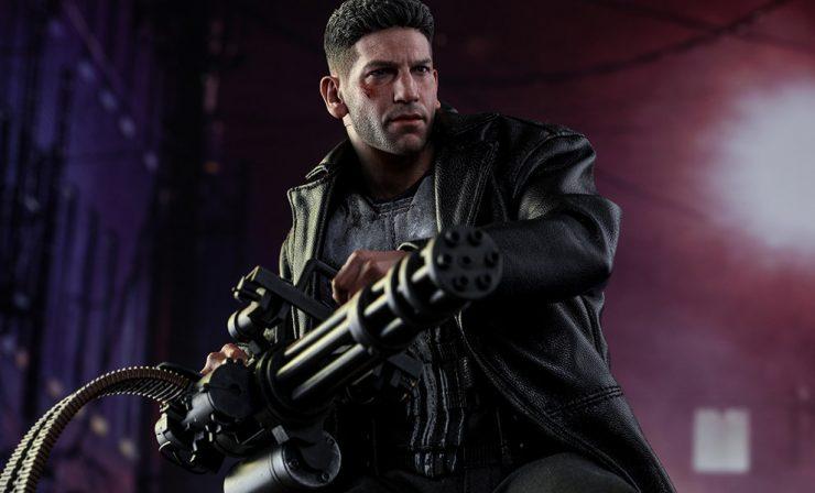 Hot Toys- Punisher Sixth Scale Figure Netflix Inspired