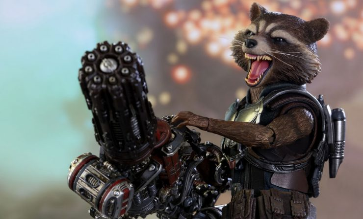 Rocket Raccoon Deluxe Sixth Scale Figure