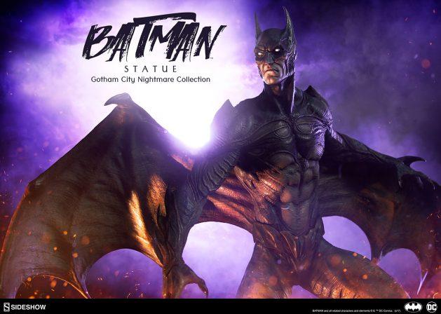 The New Batman Statue Begins Your Gotham City Nightmare