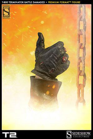 Terminator Hand Thumbs Up