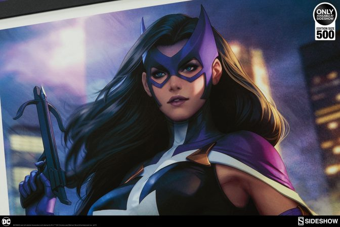 Be on the Lookout for the Huntress: Birds of Prey Premium Art Print!