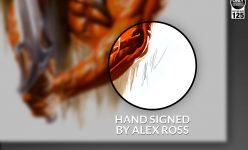 He-Man Vs. Skeletor Fine Art Lithograph Set by Alex Ross
