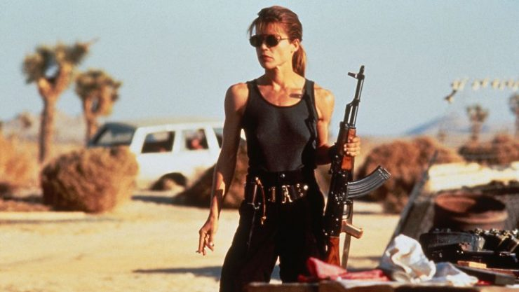 Linda Hamilton to Return to Terminator Franchise!