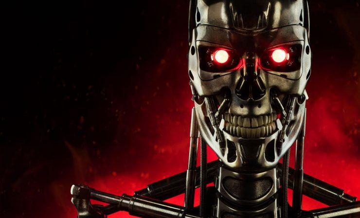 Terminator Endoskeleton Life-Size Figure by Sideshow