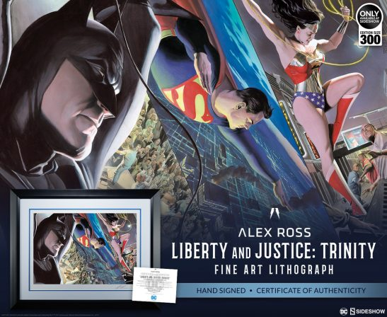 Liberty and Justice: Trinity Fine Art Lithograph